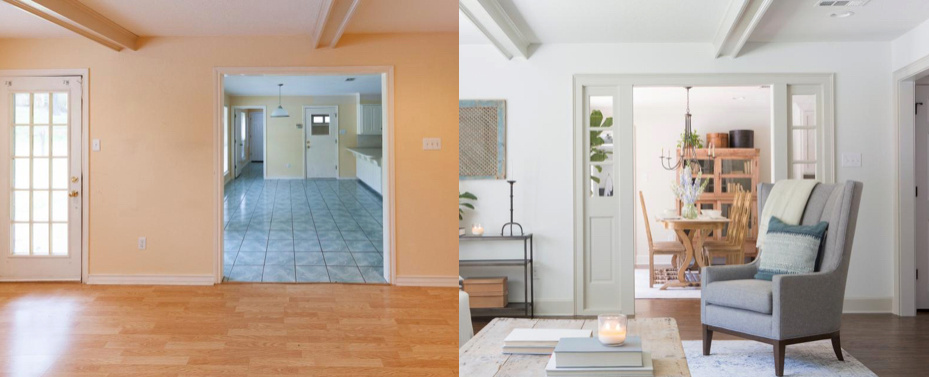 Top 7 Before After Remodeled Homes For January