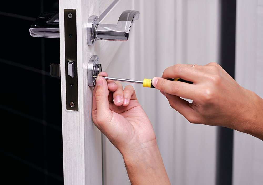 How To Install A Deadbolt Lock For Your Front Door National Cash