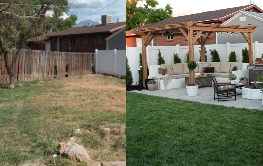 Top 5 Before And After Backyard Remodels For March