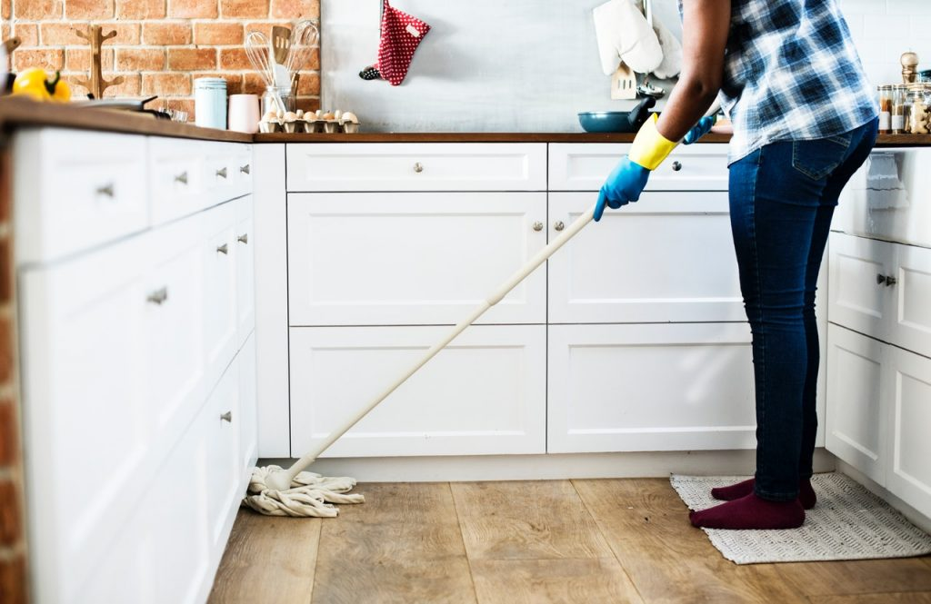 What do I do after listing my home for sale? Cleaning