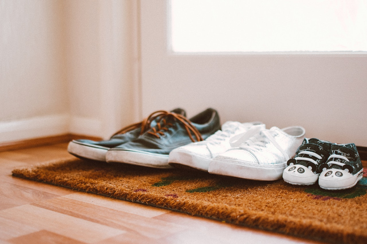 how to childproof your home | shoes in a row