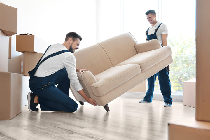 Hire a moving company