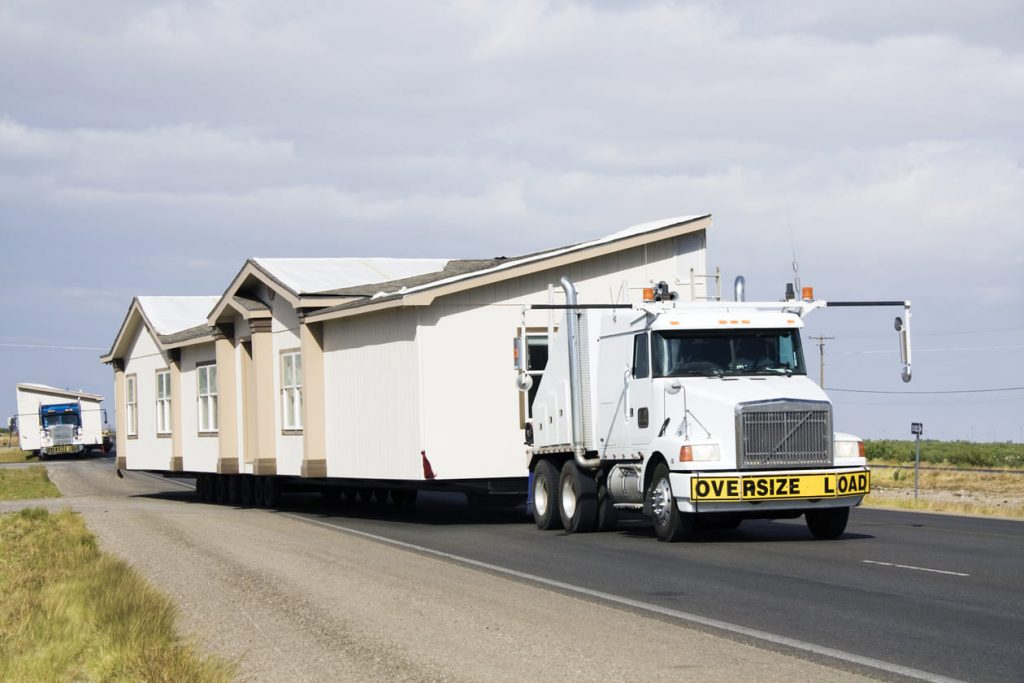 Mobile Home That Is Moving