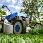 Lawnmower in Yard