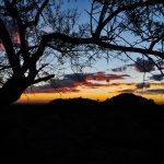 Sunset in Arizona Desert