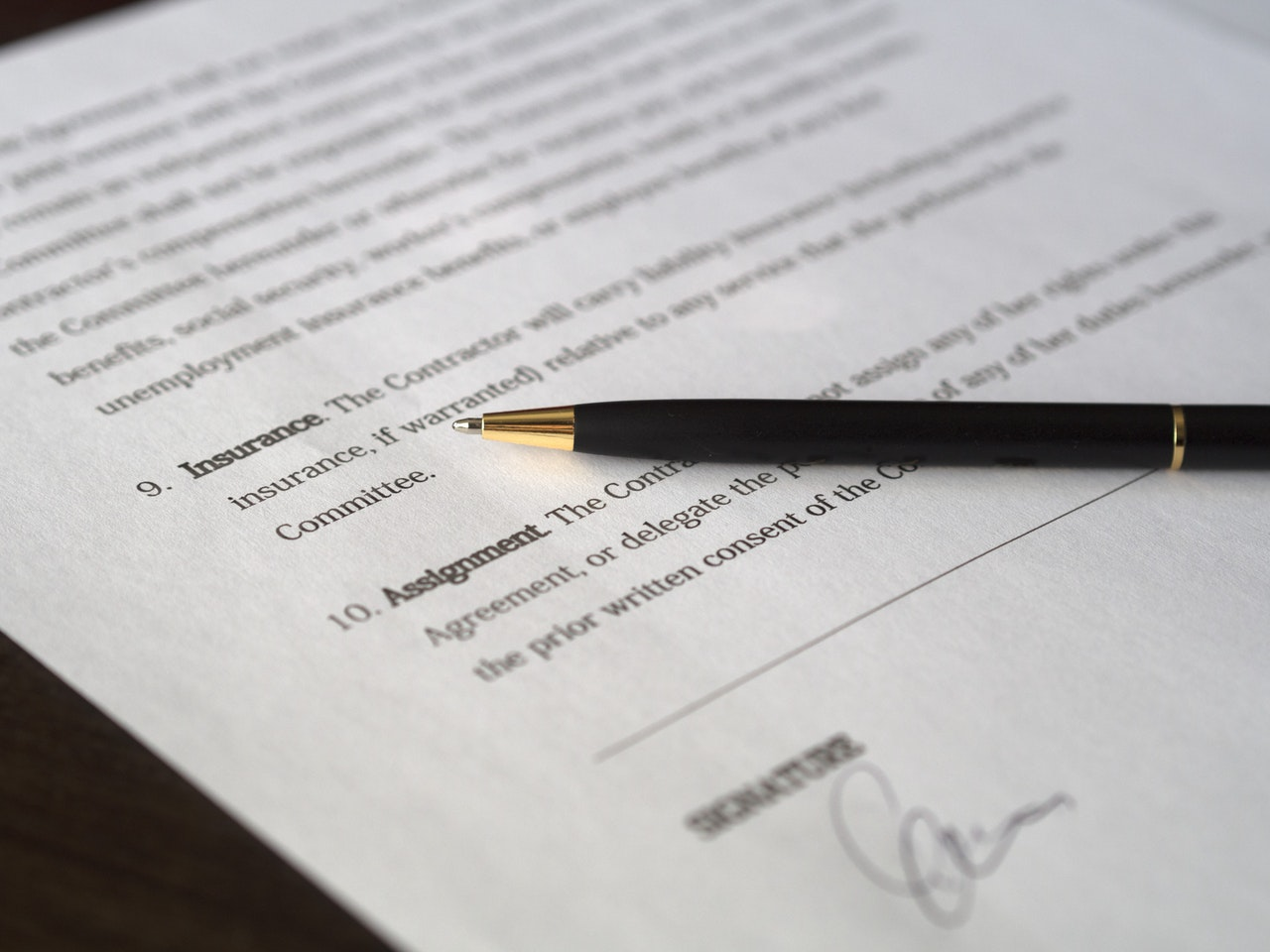 Mortgage Signature