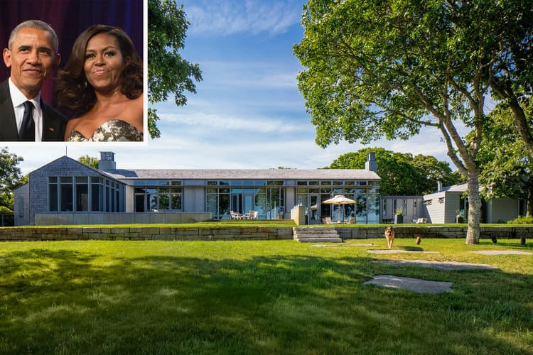 Obama's Martha's Vineyard Home
