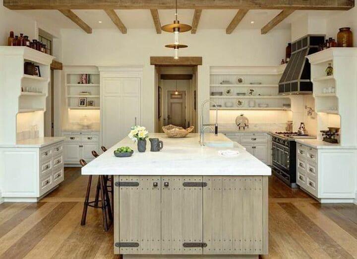 Tom Brady Boston home kitchen