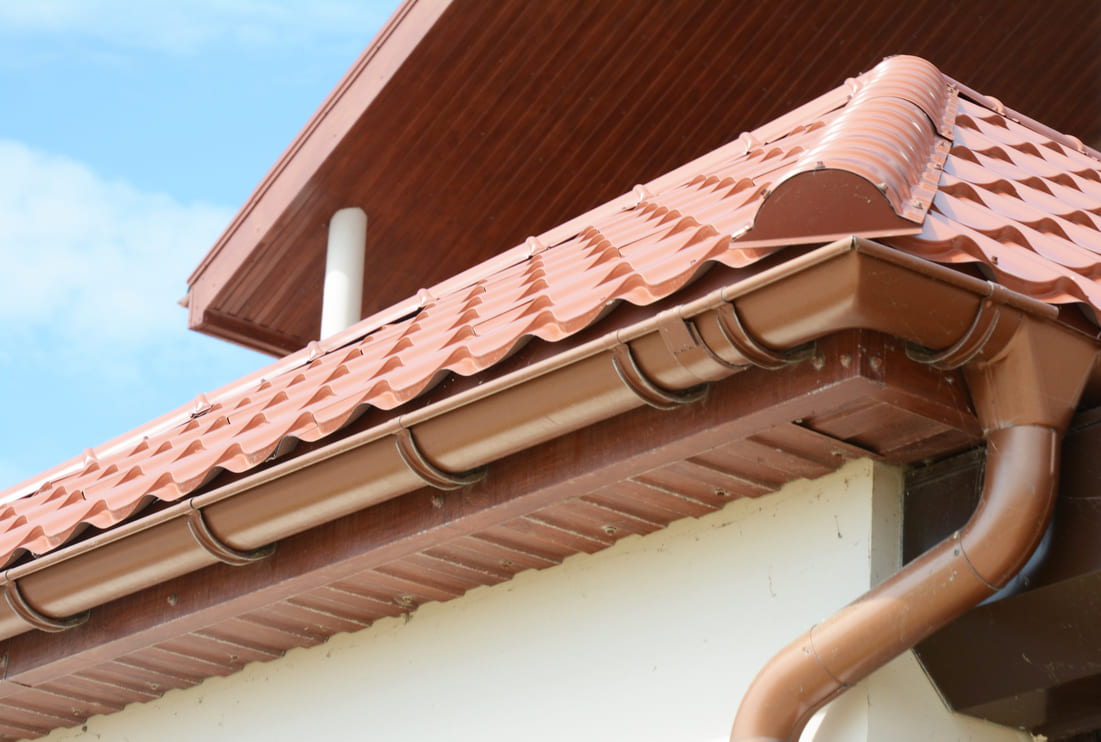 Check gutters before buying a house