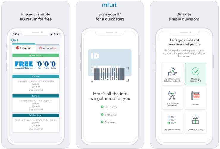 Turbo tax app