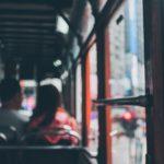 Work commute on public transportation